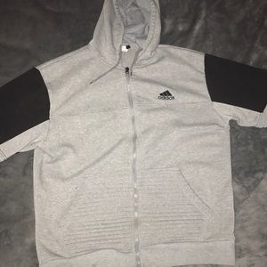 Zip up Adidas sweater